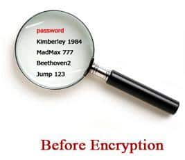 passwrd encription