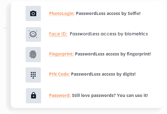 passwordless access