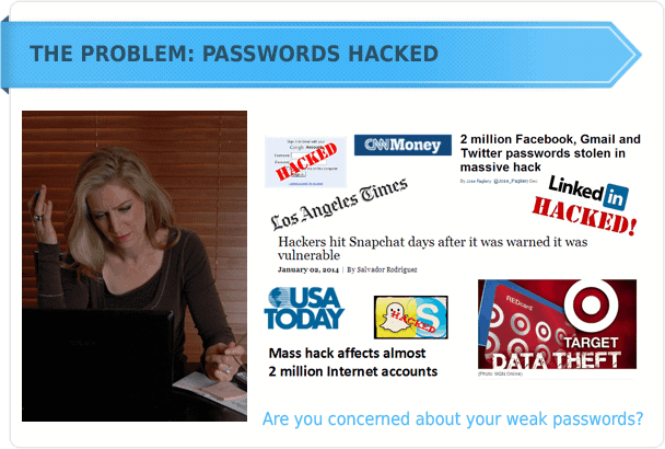 password hacked problem